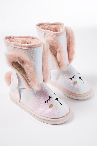 Novelty Homeboot, GLITTER BUNNY
