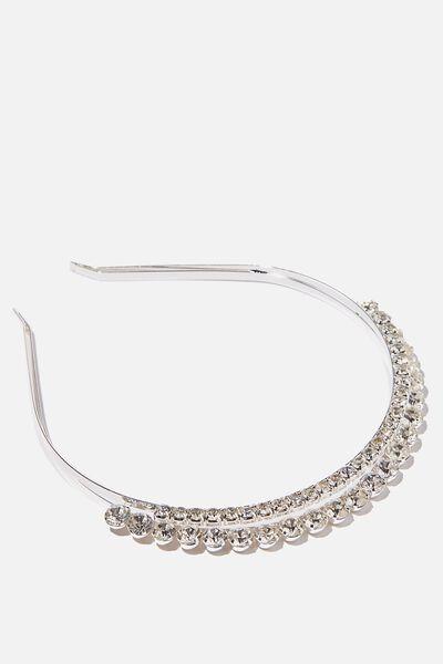 Luxe Headband, SPARKLE TIARA