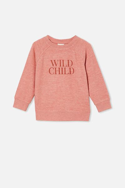 Super Soft Mila Crew, EARTH CLAY/ WILD CHILD