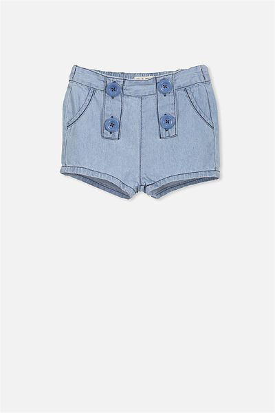 Sophie Short, CHAMBRAY BLUE