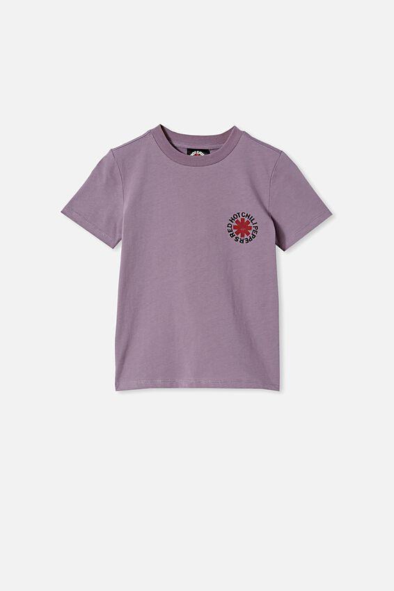 Co-Lab Short Sleeve Tee, LCN PRO DUSK PURPLE / RED HOT CHILLI