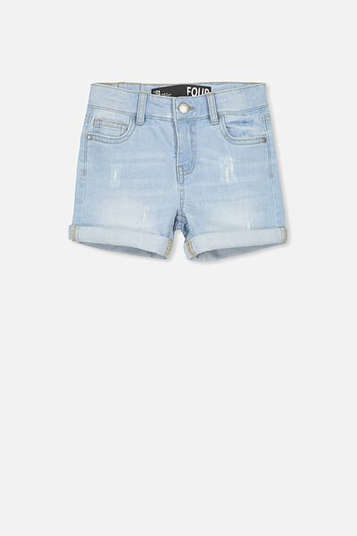 Camilla Denim Short, LIGHT WASH
