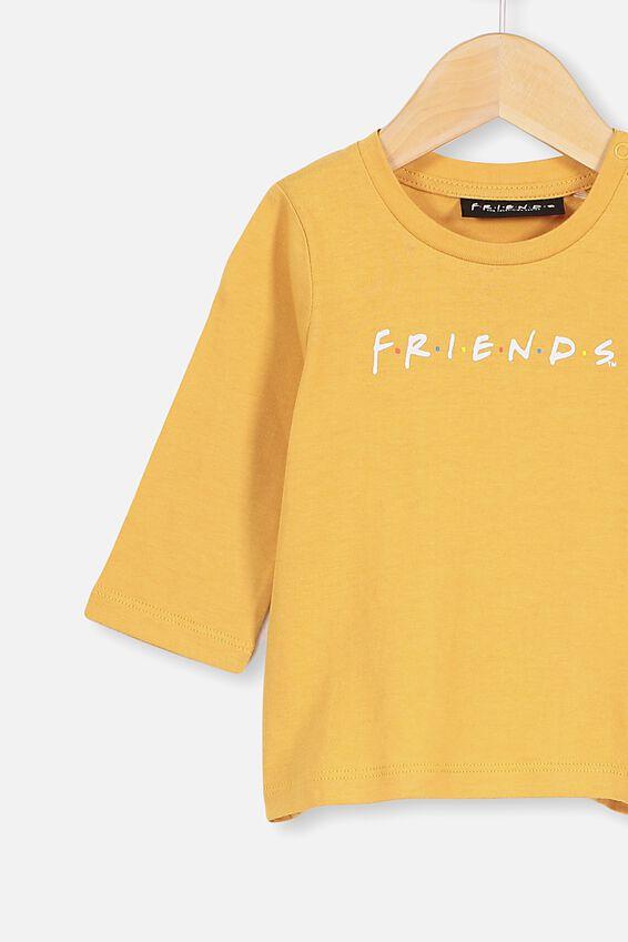 Jamie Long Sleeve Tee, LCN WB VINTAGE HONEY/FRIENDS