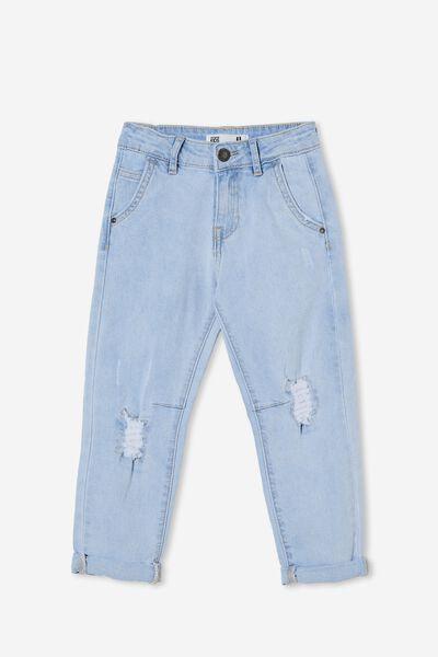 Straight Fit Jean, BELLS LIGHT BLUE