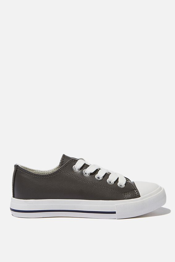 Classic Trainer Lace Up, GREY