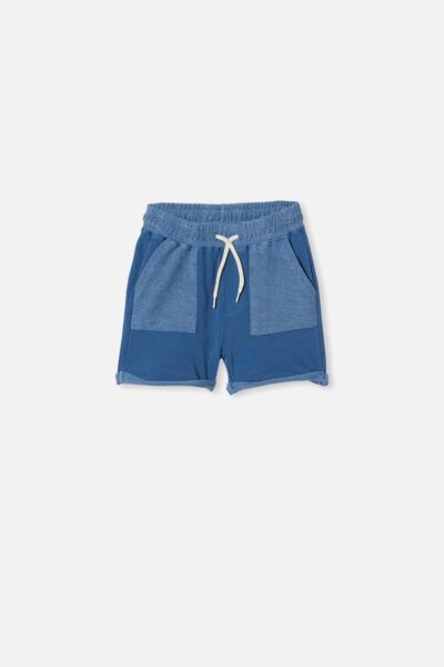 Henry Slouch Short 80/20, PETTY BLUE WASH