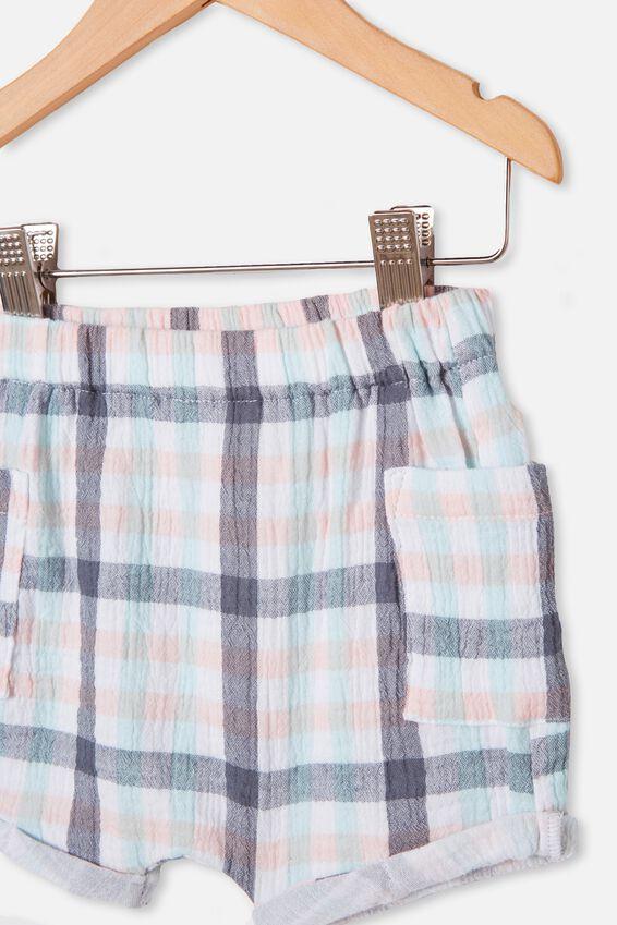 Jordan Shorts, NAVY BLAZER/KEANAN CHECK