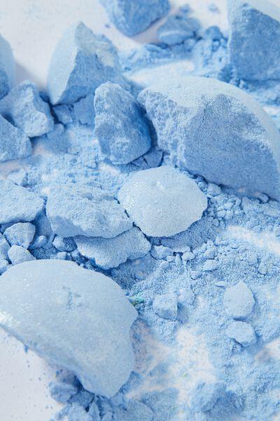 Bath Fizzy, SHIMMER BLUE