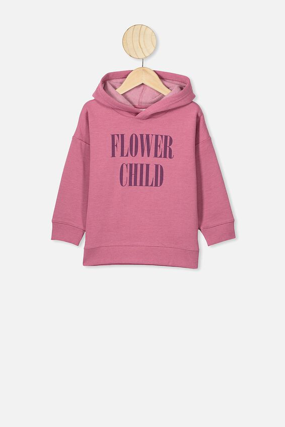 Scarlett Hoodie, VERY BERRY MARLE/FLOWER CHILD