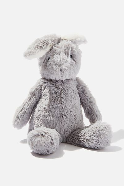 Baby Snuggle Toy, GREY BUNNY