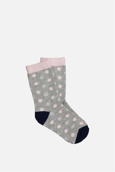 Fashion Kooky Socks, MULTI SPOT