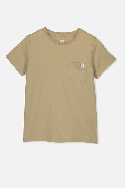 Core Short Sleeve Tee, SEMOLINA