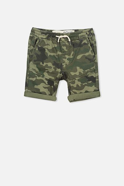 Jango Walk Short, GREEN CAMO