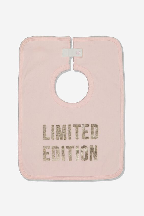 The Everyday Bib, CRYSTAL PINK\LIMITED EDITION