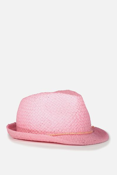 Trilby Hat, AMORE PINK