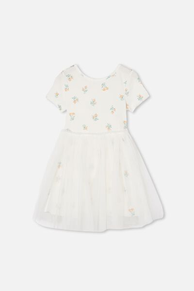 Ivy Dress Up Dress, VANILLA POSEY FLORAL