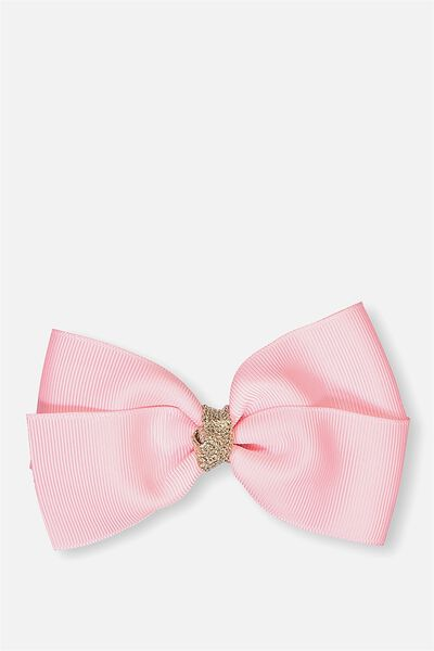 Big Bow Clips, AMORE PINK ROSE GOLD