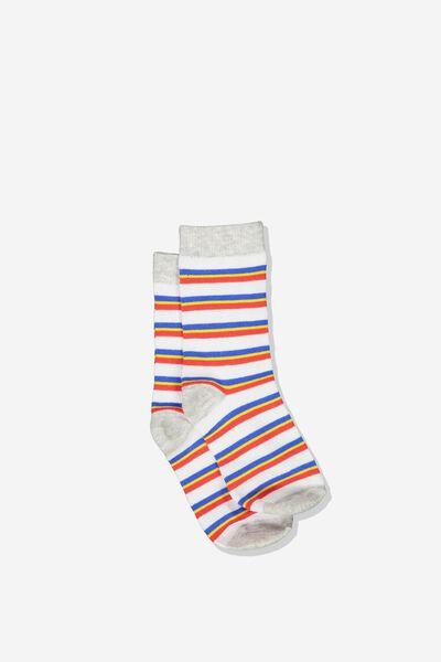 Fashion Kooky Socks, B ASPEN MULTI STRIPE