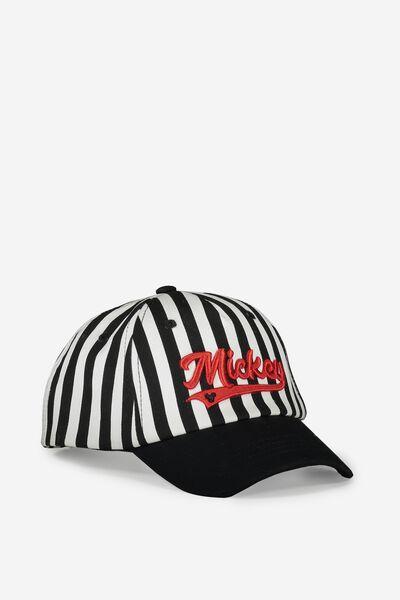 Licensed Baseball Cap, MICKEY/STRIPE