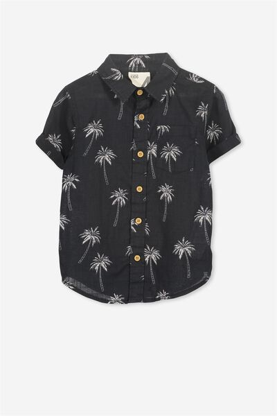 Jackson Short Sleeve Shirt, PALM ICONS