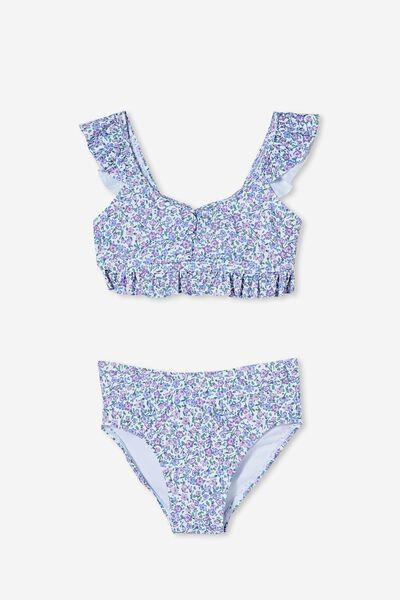 Lori Frill Bikini, VANILLA/TORQUAY DITSY FLORAL