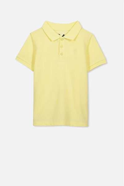 Kenny3 Polo, SOFT LEMON/PALM TREE