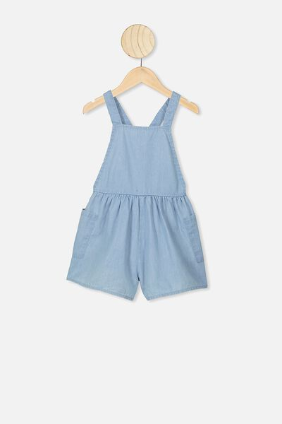 Tilly Playsuit, LIGHT BLUE WASH