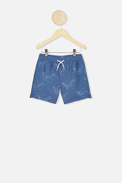 Bailey Boardshort, PETTY BLUE/WHALES