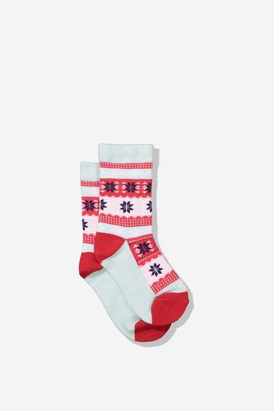 Fashion Kooky Socks, G FAIRISLE