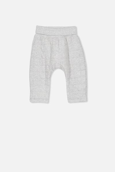 Rory Quilted Trackpant, CLOUD MARLE