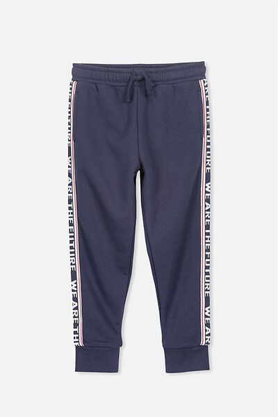 Lewis Trackpant, WASHED NAVY/FUTURE STRIPE