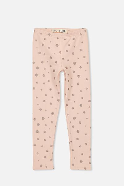 Ivy Legging, SILVER PINK/ROSE GOLD SPOT