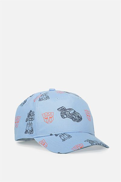 Licensed Baseball Cap, ASH BLUE/TRANSFORMERS