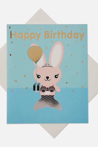 Sunny Buddy Gift Card, MIA PRESENT