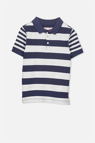 Kenny3 Polo, WASHED NAVY YDS