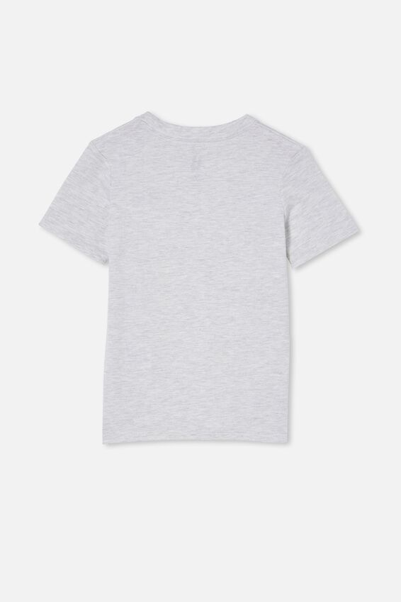 Max Skater Short Sleeve Tee, SUMMER GREY MARLE/LETS KEEP ON ROLLING