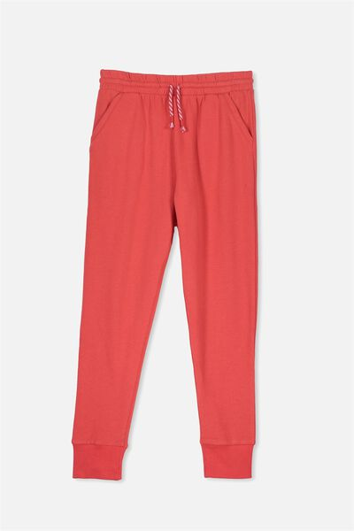 Kallie Trackpant, HIBISCUS RED