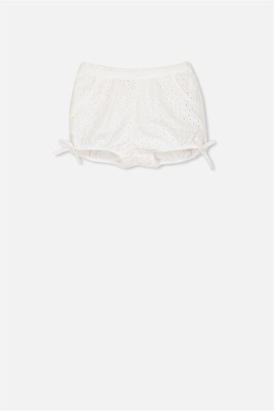 Coco Short, WHITE BRODERIE