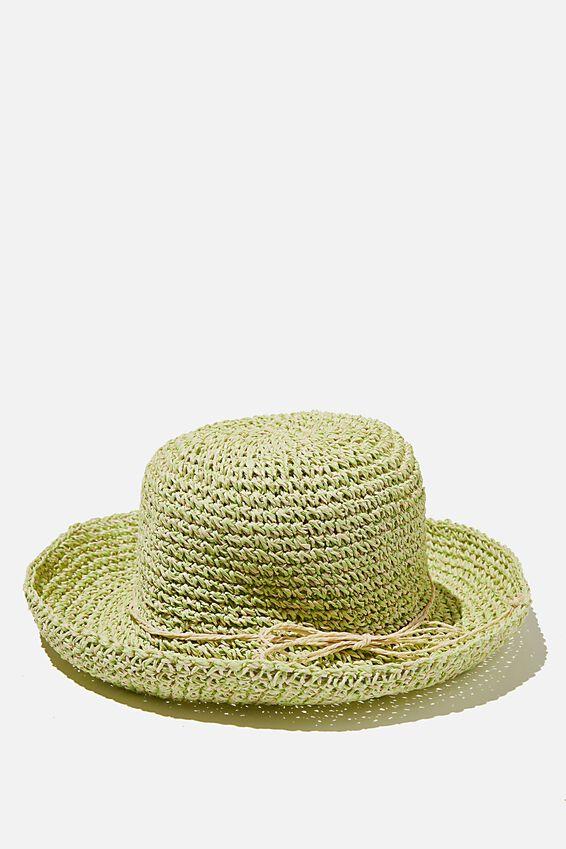 Floppy Hat, SPEARMINT NATURAL