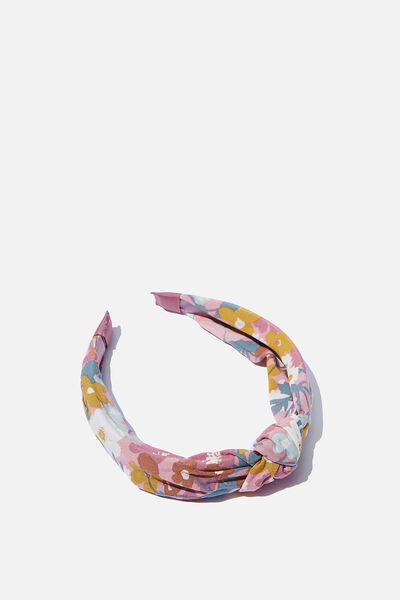 Fashion Headband, BLUSH MEADOW