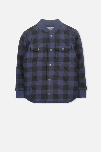 Matt Jacket, NAVY CHECK
