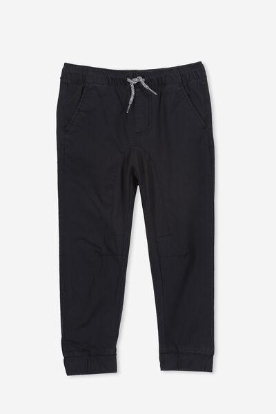 Logan Cuffed Pant, VINTAGE BLACK