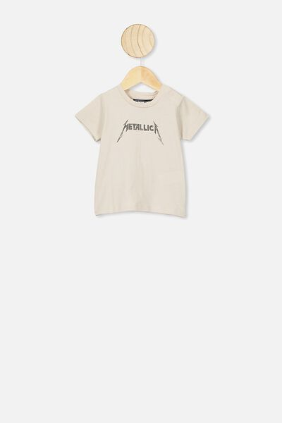 Jamie Short Sleeve Tee, LCN PRO RAINY DAY/METALLICA
