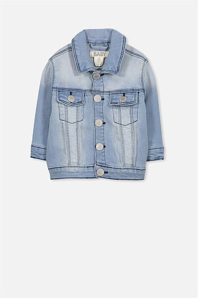 Alex Denim Jacket, BLEACH WASH