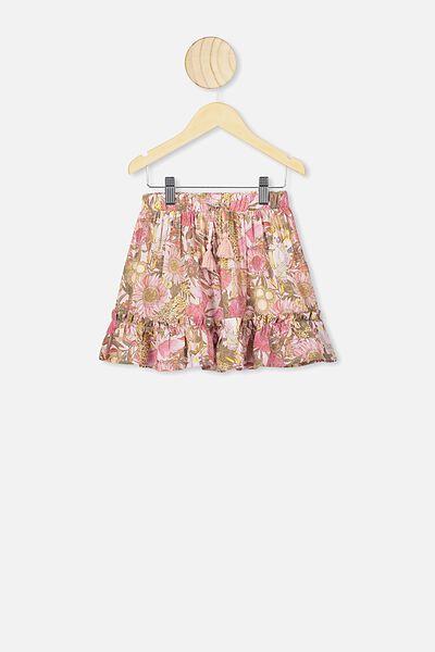 Isla Midi Skirt, AUSTRALIANA PRINT