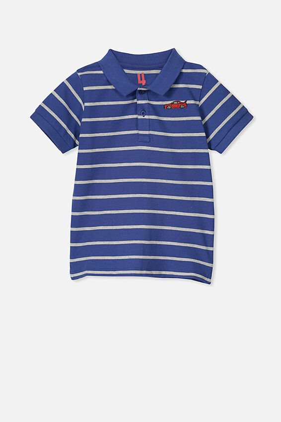 Kendricks Polo, SCUBA BLUE/FAST CAR