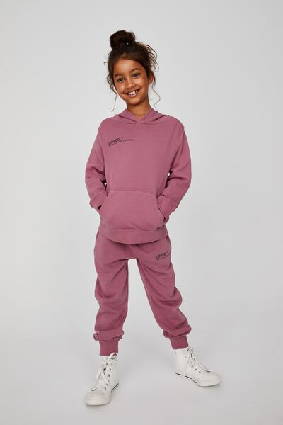Marlo Trackpant, VERY BERRY/ LOVED