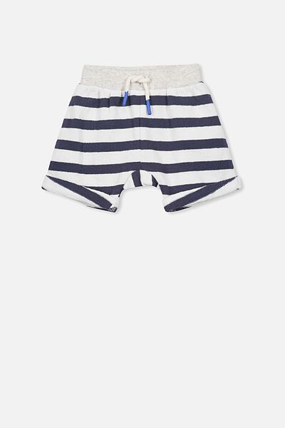 George Short, WASHED NAVY/VANILLA STRIPE