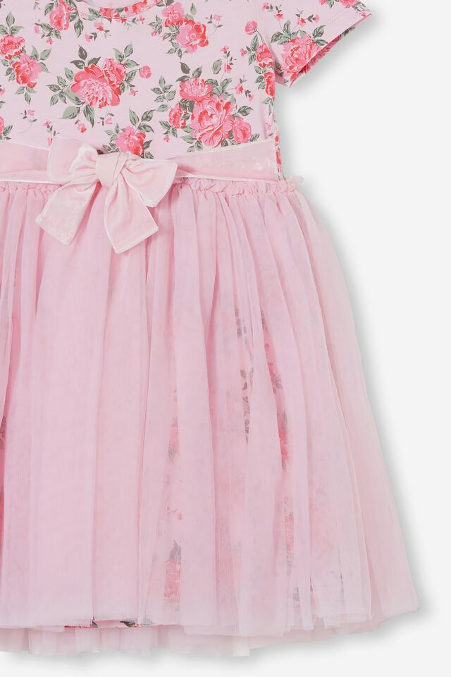 Ivy Dress Up Dress, CALI PINK WHITBY ROSIE FLORAL