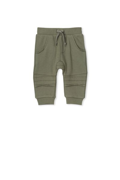 Maddox Fleece Pant, CLIVE GREEN